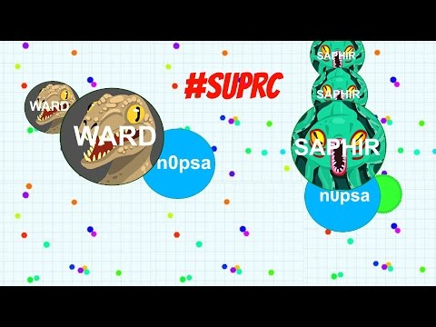 Agar.io #SUPRC |Ward and Sup |Clan| TeamGamePlay 1