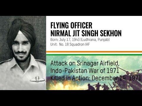 Param Vir Chakra Flying Officer Nirmal Jit Singh Sekhon