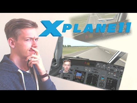 Prepar3D Fan Tries X-Plane 11 for the First Time!