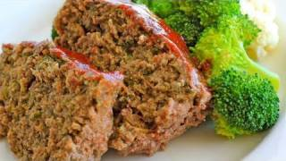 Clean Eating Beef Meatloaf Recipe