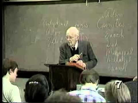 "Hugh Nibley, ""The Heritage of Cain"" (Pearl of Great Price Lecture Series - 20)"