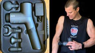 Best Massage Gun: SAFR only $150! Better than Theragun & Hypervolt!