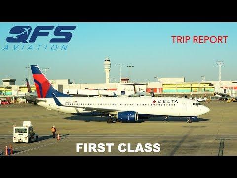 TRIP REPORT   Delta Airlines - 737 800 - Atlanta (ATL) to Sacramento (SMF)    First Class