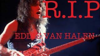 R.I.P EDWARD VAN HALEN 追悼LIVE配信☆ヘッドホンでどうぞ♪