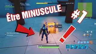 [GLITCH] HOW to be MINUSCULE On FORTNITE!! Season 9