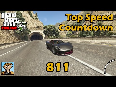 Fastest Supercars (811) - GTA 5 Best Fully Upgraded Cars Top Speed Countdown