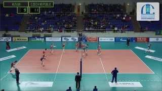Волейбол U-18 Россия - Чехия