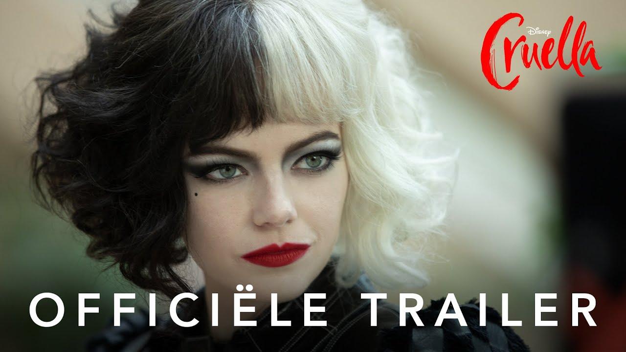 Emma Stone in officiële Cruella trailer