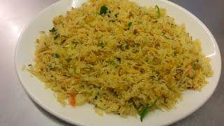 Garlic Fried Rice - Indian Restaurant Cooking - Indian Cooking - Pabda20