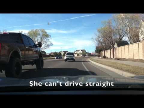 Bad drivers around Colorado Springs -- Mar - May 2017