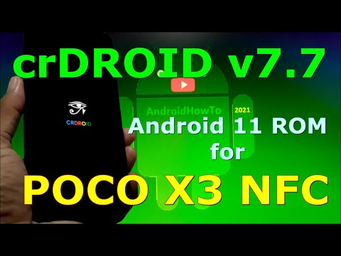 crDroid v7.7 Official for Poco X3 NFC (Surya) Android 11