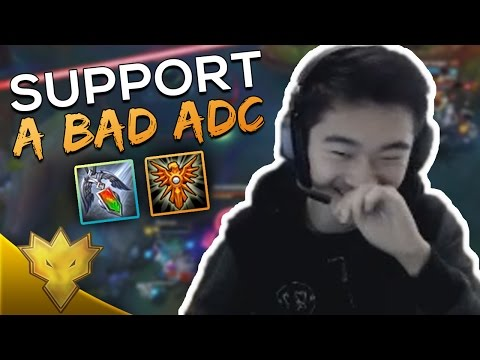 LoL Support Guide: Laning with Different Types of ADCs