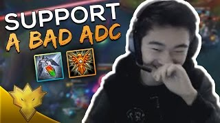 TSM Biofrost - How To Support a Bad ADC - League of Legends Stream Highlights & Funny Moments
