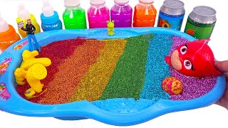 Learn Color All Color Slime Smoothie with PJ Masks | Nursery Rhymes , Satisfying Slime Videos