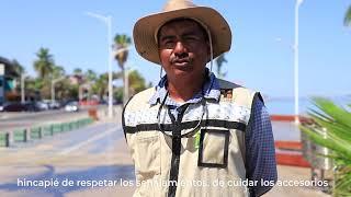 Miniatura de video Testimonial de obras de remodelación en el Malecón de La Paz