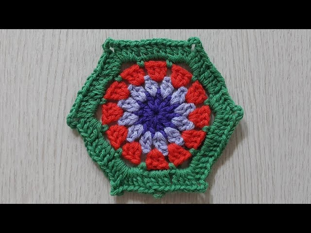 ??? ???(???)???-crochet hexagon motif
