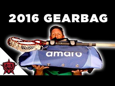 Gear Bag: 2016