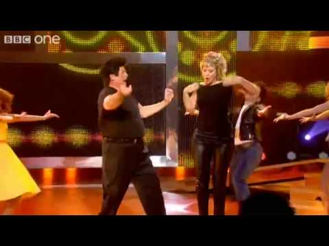 Nicki and Biggins do Grease - Let's Dance for Comic Relief - BBC One