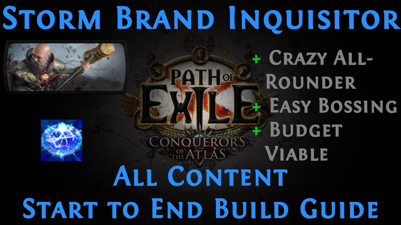 Download [PoE] [Guide] Storm Brand Inquisitor 3.14 Ultimatum Ready   Best Allround Build in the Game!