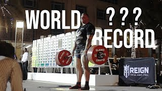 CAN WE BEAT THE 500KG DEADLIFT WORLD RECORD? - STOLTMAN BROTHERS