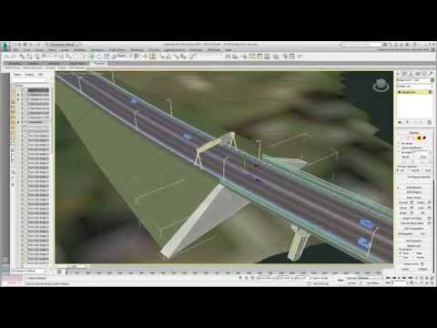Using 3ds Max Design With Civil 3D - Part 20 - Capping The Sloped Surfaces