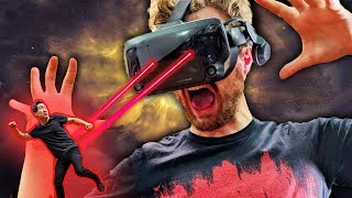 Can You Outrun Someone's Eyes In VR?