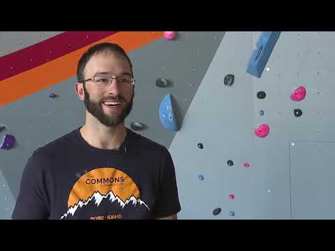 Rock Climbing Community Comes Together To Build A New Gym In Boise