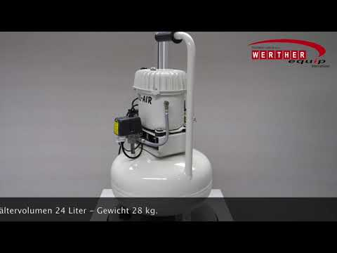 Sil-Air 50-24 V Dent (ölbetrieben) Flüsterleise