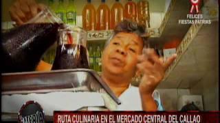 Nota -  Ruta culinaria en el mercado central del Callao