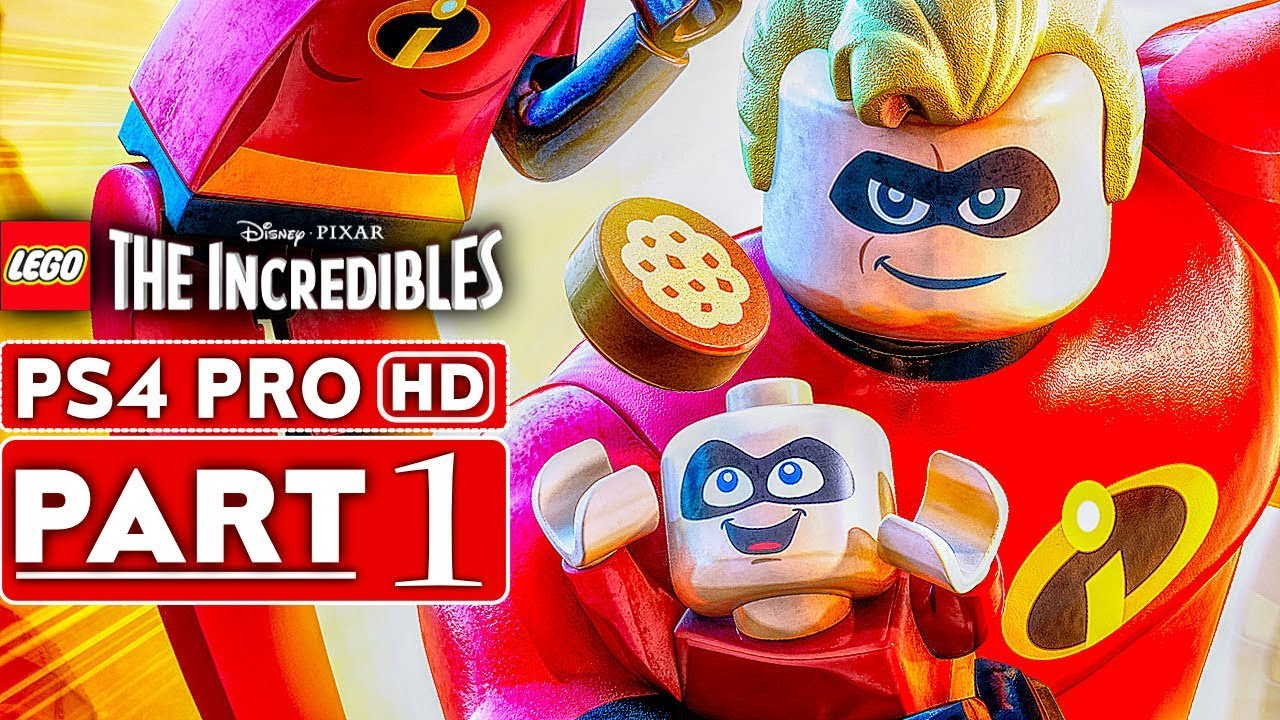 LEGO THE INCREDIBLES Gameplay Walkthrough Part 1 [1080p HD PS4 PRO] - No Commentary