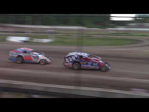 Ransomville Speedway Modified Highlights 6-22-18