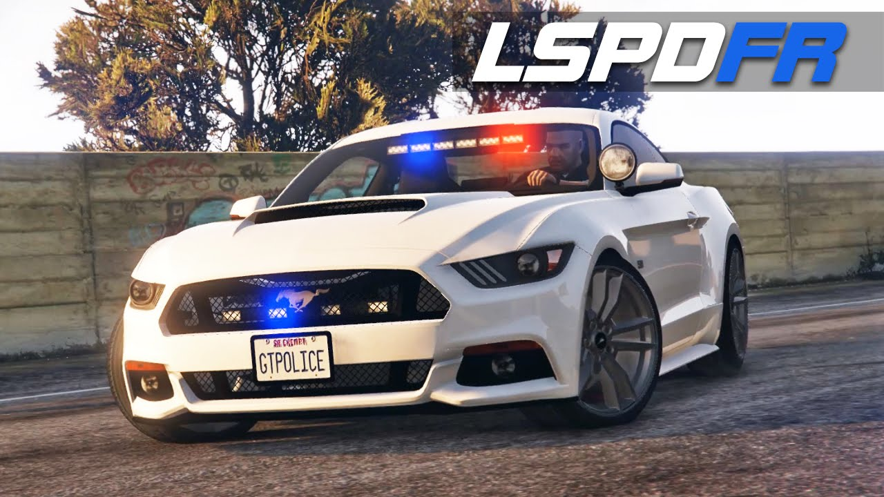 Lspdfr Sp E80 Mustang Police 2015 Ford Mustang Gt Police Car Youtube