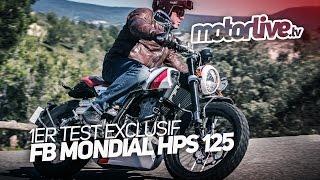 FB MONDIAL HPS (Hipster) 125 | 1er TEST EXCLUSIF ! [+ SUBTITLES]