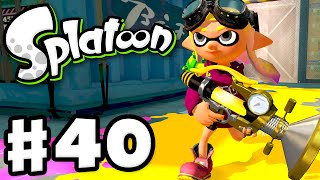 Splatoon - Gameplay Walkthrough Part 40 - Sploosh-o-matic! (Nintendo Wii U)
