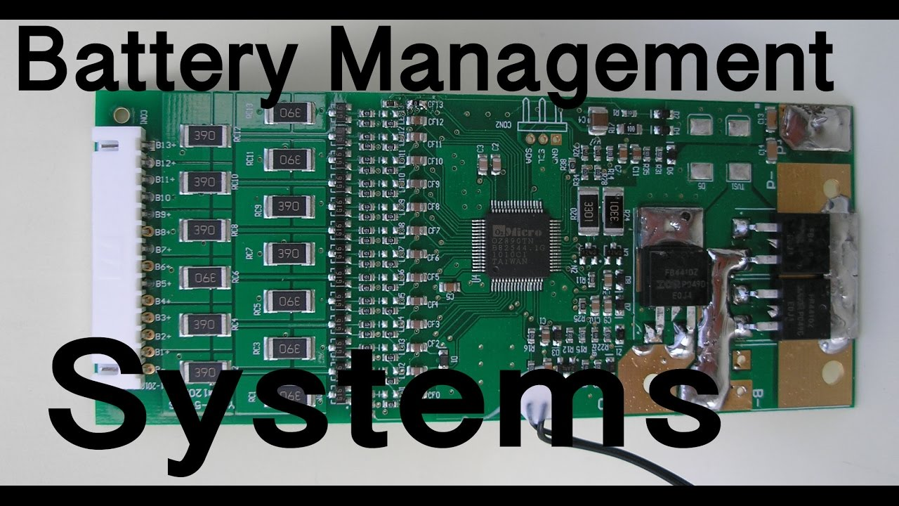 Battery Management System : My thoughts on lithium battery management systems bms