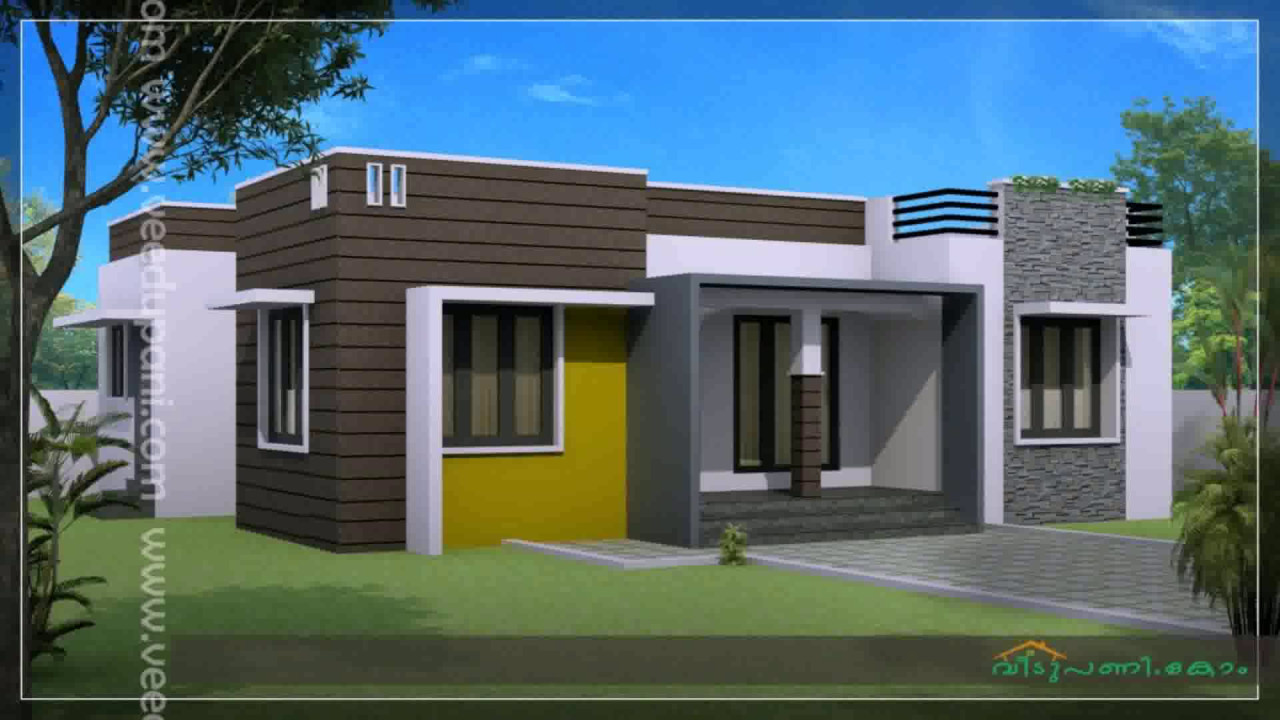 Kerala style house plan 3 bedroom youtube - House of three bedrooms plan ...