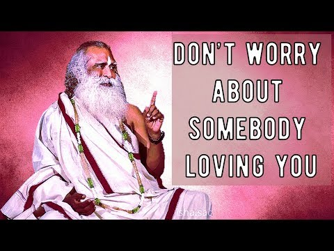 Love is not a transaction; Sadhguru about Love