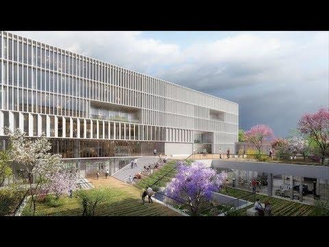 Nice: découvrez le futur Campus de l'apprentissage!