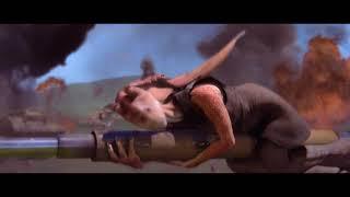 Гунганы сражаются с дроидами. HD
