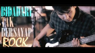 Anji - Bidadari Tak Bersayap - Rock Cover by Jeje GuitarAddict feat Oki (Official Music Video)
