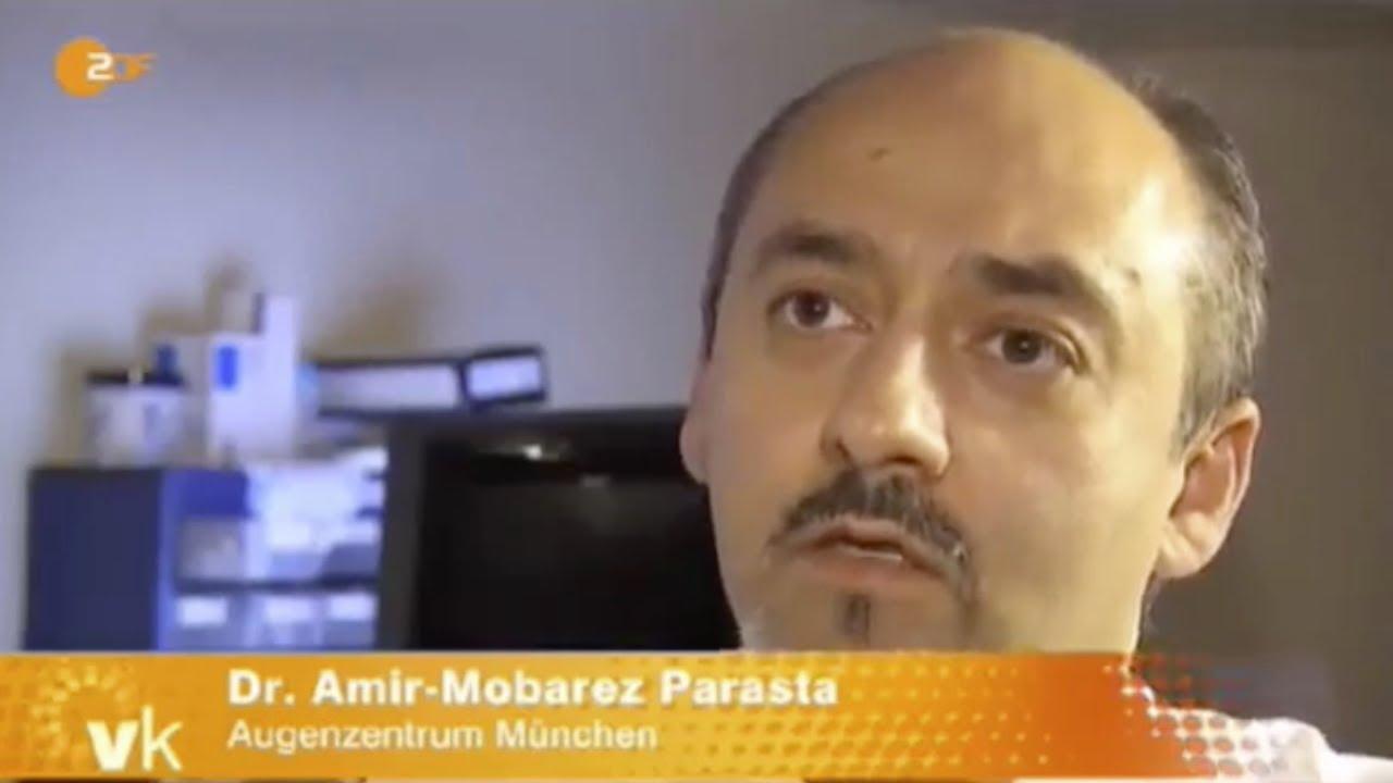 ZDF - Dr. Parasta vom Augenzentrum München über Risiken beim Augenlasern