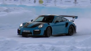 GP Ice Race 2019 Zell am See - Best Of Sounds & Drifting!