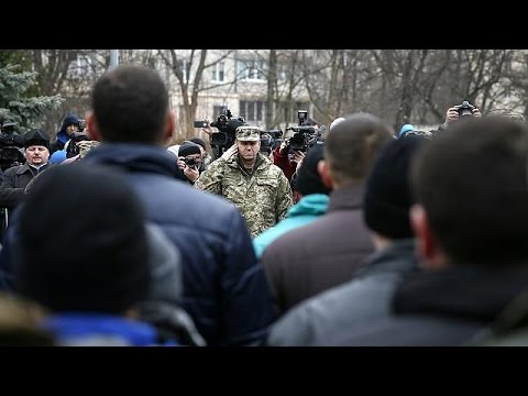 Download Ukraine troops called up ahead of fresh talks announced for Friday