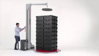 Паллетоупаковщик полуавтоматический для упаковки в стрейч пленку Pkg Eco Discovery