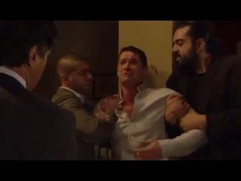 EastEnders - Christian Clarke Gets Beaten Up By Qadim Shah (29th April 2010)