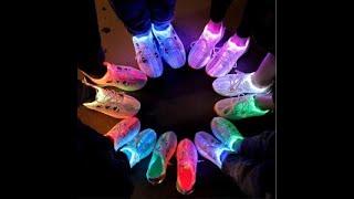 Fiber Optic LED Shoes UNBOXING