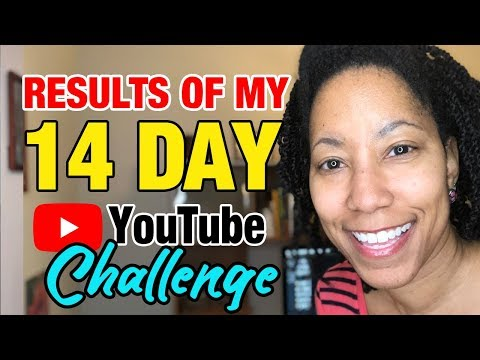 Traffic & Subscriber Results of My 14 Day YouTube Challenge