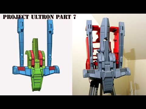 XRobots - Ultron Part 7, A REAL ROBOT - Starting Torso Mechanics and cosmetics