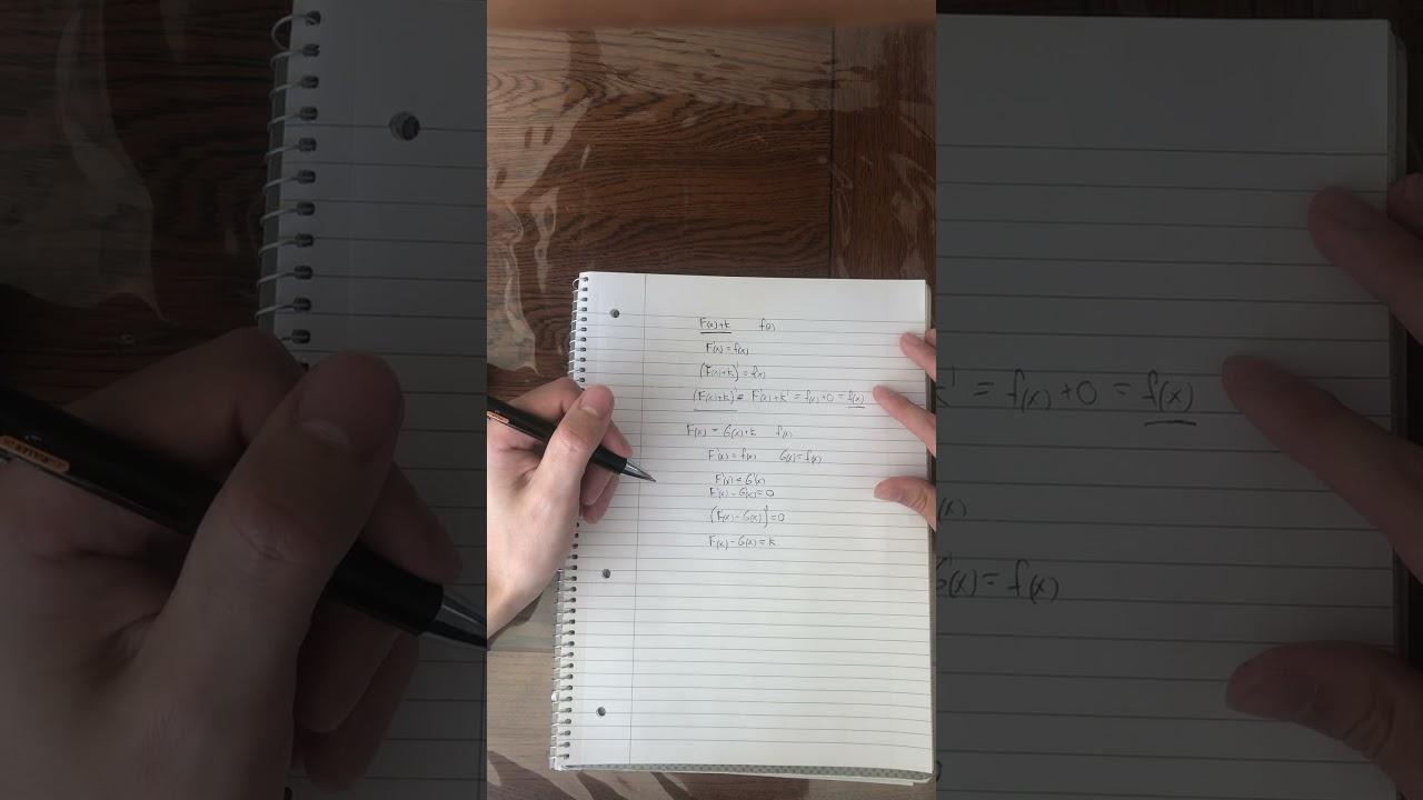 Differential- og integralregning (eksamenspørgsmål)