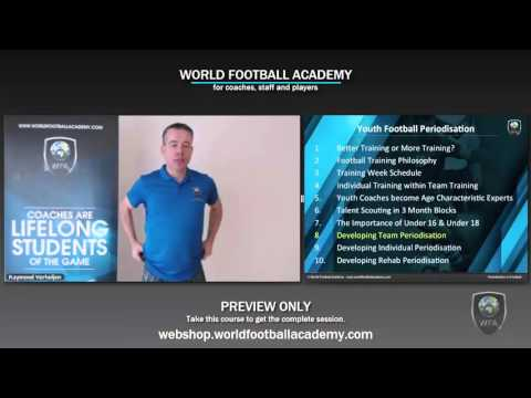 Youth Football Periodisation - Preview